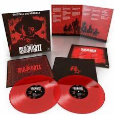 Red Dead Redemption 2 Video Game Soundtrack Translucent Red Vinyl 2LP VGM OST