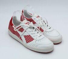 Diadora Men's Sz 11.5 Tennis Shoes White Red 2007.1.50908 Shoes RARE $229