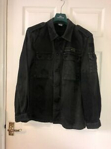Oasis Band Jacket Rare Noel Liam Gallagher Overshirt Military Style Casuals 2009