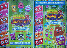 moshi monsters series 3 code breakers base and micro text cards 1