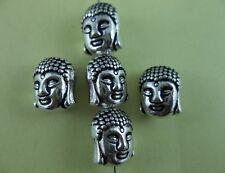20pcs Tibetan silver Buddha charms Spacer bead 11x9x7mm