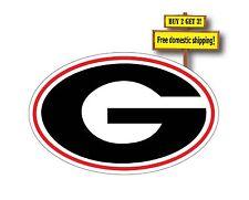 """GA Georgia Bulldogs College Decal/Sicker Dawgs 5"""" x 3"""" Free Shipping p84"""