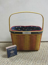 Longaberger 2001 Collectors Club Whistle-Stop Basket Combo 