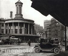 1926 Vintage Print STOCK EXCHANGE Philadelphia Pennsylvania Photo Art E.O. HOPPE