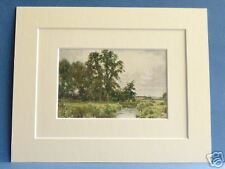 NEAR HUNGERFORD BERKS VINTAGE DOUBLE MOUNTED PRINT 10X8 OVERALL 1920 S PALMER
