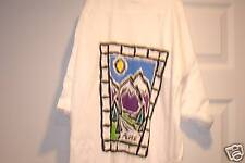 T-Shirt Adult XL 100% Cotton New NBW Says Alpine on Front