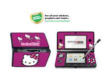 Bonjour Kitty Vinyl Skin autocollant pour Nintendo 3DS