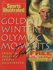 Eric Heiden Olympic USA Speed Skater SIGNED Special Sports Illustrated COA!