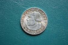 Drittes Reich: 5 Reichsmark / Mark 1933 A - Luther 450.Geburtstag - J.353 vz-st