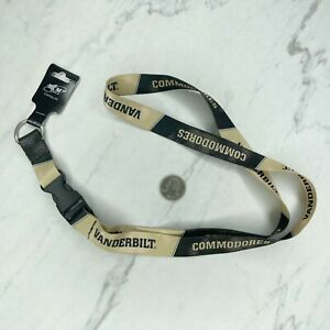 Vanderbilt Commodores Lanyard Necklace Keychain Keyring