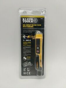 Non-Contact Voltage Tester Flashlight Klein Brand NCVT-3 Detects 12 to 1000v