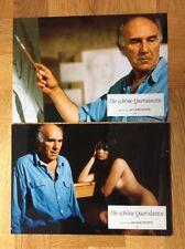 Schöne Querulantin (2 Kinoaushangfotos '92) - Michel Piccoli / Jane Birkin