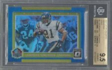 LADAINIAN TOMLINSON 2017 DONRUSS OPTIC INDUCTED GOLD HOLO #D /10 BGS 9.5 POP 1/1