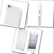 Apple iPhone 6 & 6S 0,35 PE CASE-Resistente ai Graffi BIANCO CON INTERRUTTORE facile