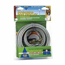 Four Paws Silver Heavy Weight 100 Foot Dog Trolley Exerciser, New, Free Shipping