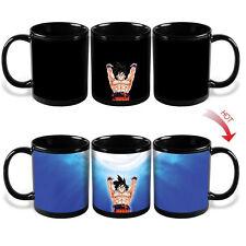 Dragon Ball Z Son Goku Magic Ceramic Heat Reactive Color Change Coffee Mug DBZ