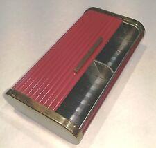 """Vintage """"Park Sherman"""" Roll-Top Cigarette Case, Brass and Bakelite"""