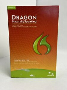 Nuance Dragon NaturallySpeaking 12.0 Home K468A-GG4-12.0 DVD ROM w/ Microphone