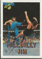 Hillbilly Jim 1990 Classic WWF Autograph Card #40 JSA
