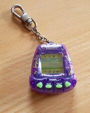 Giga Pets Digital Doggie Virtual Pet Dog Electronic Game Clear Purple 1997