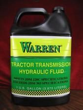1 Gal Tractor Transmission Hydraulic Fluid Warren JDM J20C 303 1 Gallon