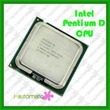 Intel Pentium D 945 3.40GMhz 800Mhz 4M CPU BOX SL9QB 100% WORK  GOOD  CONDITION