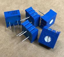 "50 x 3386P-1-103  Trimmer Resistors - Through Hole 3/8"" 10Kohms 10% 0.5Watts"
