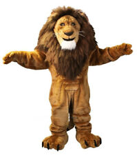 Mascot Fire Lion Costume Cartoon Outfit Character Fancy Cosplay Dress Adult Xmas