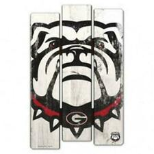 Legacy Athletics University of Georgia Bulldogs Natural Wood Plank Sign 14x24