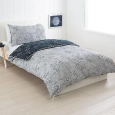 Kids Boys DOUBLE Dinosaur Grey Blue Quilt Doona Cover Pillowcase Set Boys Bed