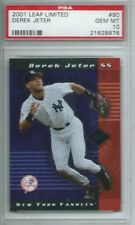 2001 Leaf Limited Derek Jeter #90 Yankees PSA 10