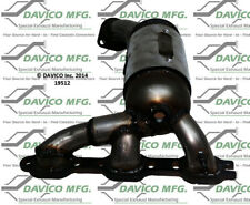 Catalytic Converter-Exact-Fit Left Davico Exc CA 19512