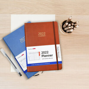 2022 Planner with Monthly Index Tab Day Per Page Daily Organizer for Man & Women