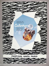 Cabochard Perfume by Gres PRINT AD - 1977