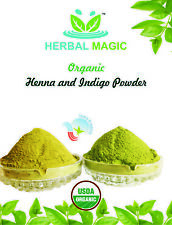 500G ORGANIC HENNA + 500G ORGANIC INDIGO 'BLACK HENNA' POWDER / HAIR COLOR/DYE