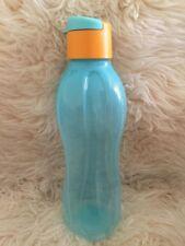 Tupperware Eco Easy Öko Trinkflasche 750 ml mit Trinkverschluss Blau