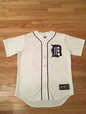 Brennan Boesch Detroit Tigers MLB Authentic Majestic Jersey Men's Size M