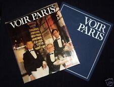 Voir Paris; Yvonne Deslandres - French Capital Interest - 1973-1st - France, SC