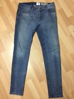 RIPPED Men Diesel SLEENKER STRETCH Denim 084QL BLUE EX SLIM W32 L32 H6 RRP£150