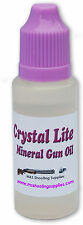 Crystal lite mineral gun oil - 20ml-conçu pour fusils, fusils & FIREARMS