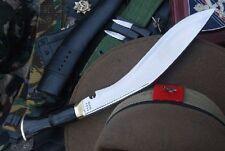 Traditional Gurkha Service No.1 Kukri, EGKH Hand Forged Khukuri Blade - Nepal