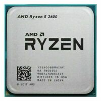 AMD Ryzen 5 2600 R5 2600 CPU Six-Core 3.4-3.9 GHz 65W Socket AM4 Processor