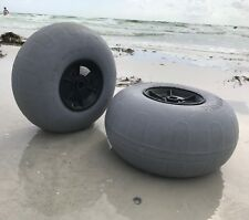 Kayak Cart & SUP Heavy Duty Beach Wheel 12-13 inch Low Pressure Sand Tire Pair