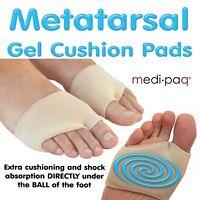 Metatarsal Gel Cushion - Ball of Foot Pad Shock Absorbing Pain Morton Neuroma