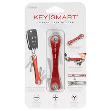 KeySmart Original - Compact Key Holder (Up to 8 Keys, Red) [Brand New]