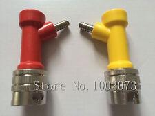 Pair Homebrew Cornelius Corny Keg PIN LOCK Barbed Disconnect Adapter Gas/Liquid