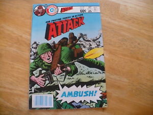 "ATTACK VOL 9 # 42 (6.5 FN+) 9/83 - MID TO HIGH GRADE CHARLTON - NICE ""FILE COPY"""