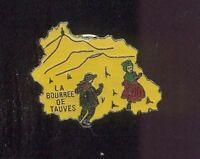 Pin's - La bourrée de TAUVES (Puy de Dome)