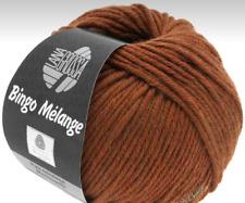 9,90 €/ 3.5oz Bingo Melange LANA GROSSA 1.8oz Fb.241 Maroon Mixed Merino Wool