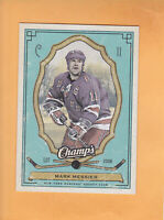 2009 10 UPPER DECK CHAMPS MARK MESSIER GREEN #66 NEW YORK RANGERS